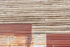 混杂的墙壁 免版税库存图片