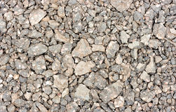 混杂的小卵石盖石头 库存照片