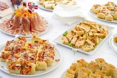 混杂的开胃菜 免版税库存图片
