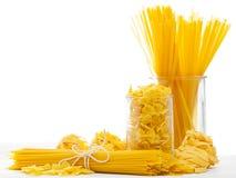 混杂的意大利面食 库存图片
