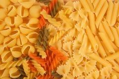 混杂的意大利面食 免版税库存照片