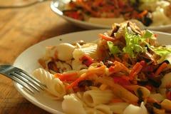 混杂的意大利面食 免版税图库摄影