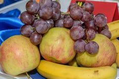 混杂的新鲜水果 库存图片