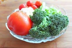混杂的未加工的蔬菜 库存图片