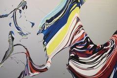 混杂的油漆背景 免版税库存图片