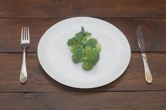 混杂的牌照蔬菜 免版税库存照片