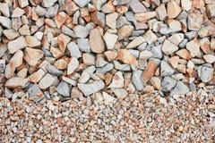 混杂的石渣 免版税库存图片