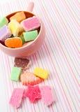 混杂的糖果 库存图片
