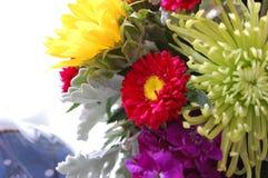 混杂的花花束 库存照片