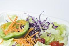 混杂的菜沙拉 库存图片