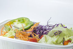 混杂的菜沙拉 免版税库存图片