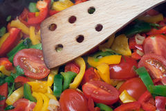 混杂的蔬菜 图库摄影