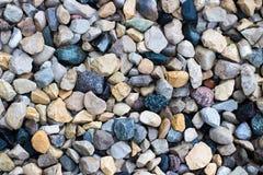 混杂的锋利的岩石充分的框架特写镜头  免版税库存照片