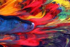 混杂的颜色魔术 图库摄影