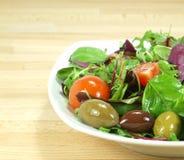混杂的婴孩蔬菜沙拉 库存照片