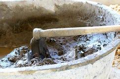 混杂的水泥 库存照片