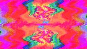 混杂色时髦动态计算机国际庞克呈虹彩背景 向量例证