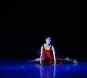 混淆现代舞蹈 库存图片