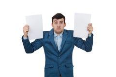 混淆的情感 免版税库存图片