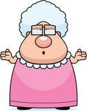 混淆的祖母 向量例证