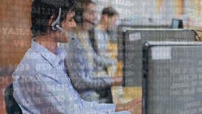 添加对客户的电话中心代理队  影视素材