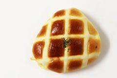 添面包烘烤并且装饰 库存照片
