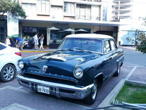 清新的环境水星汽车在1953年制造的在美国 库存图片