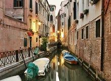 清早在威尼斯 免版税库存照片