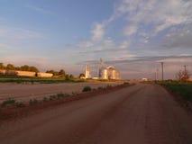 清早西方的得克萨斯 免版税图库摄影