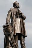 清楚的克利夫兰日加菲尔德・詹姆斯纪念俄亥俄冬天 加菲尔德纪念碑华盛顿特区 免版税库存图片