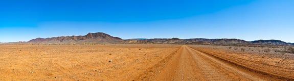 清楚的大澳洲内地全景天空 免版税库存图片