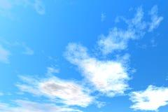 清楚的天空 免版税图库摄影