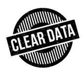 清楚的数据不加考虑表赞同的人 免版税库存照片