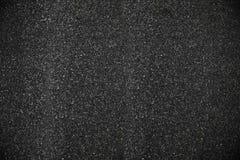 黑清楚的沥青纹理背景 免版税库存照片