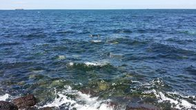 清楚的海洋水 免版税库存图片