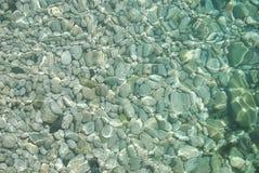 清楚的海水 免版税库存图片