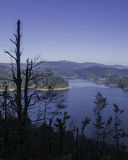 清楚的湖, Lokve,克罗地亚 库存照片