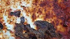 清楚的铁生锈的背景例证 免版税库存照片