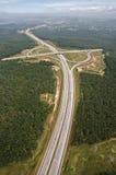 清楚的高速公路 图库摄影