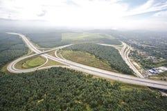 清楚的高速公路 免版税库存照片