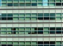 清楚的玻璃窗Buildin 免版税库存照片