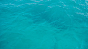清楚的水色海洋 库存图片