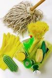 清洁工具 图库摄影