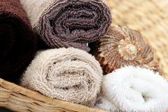 清洁毛巾 免版税库存照片