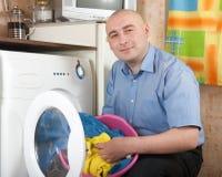 清洁洗衣店 免版税图库摄影