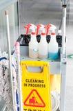 清洁物品 库存照片