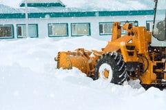 清洁雪漂泊 免版税库存图片