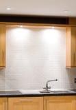 清洗厨房 免版税库存图片