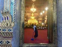 清洗响铃寺庙, 库存图片