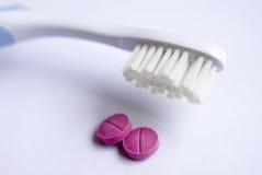 清洗您的牙 免版税库存图片